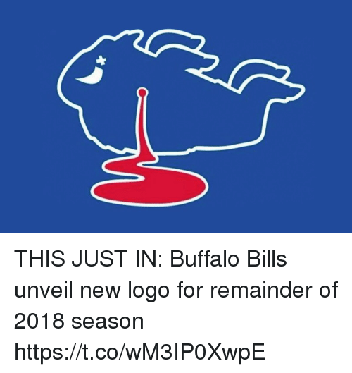 This Just In: THIS JUST IN: Buffalo Bills unveil new logo for remainder of 2018 season https://t.co/wM3IP0XwpE