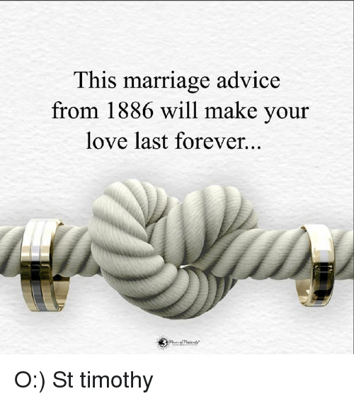 25 best memes about marriage advice marriage advice memes. Black Bedroom Furniture Sets. Home Design Ideas