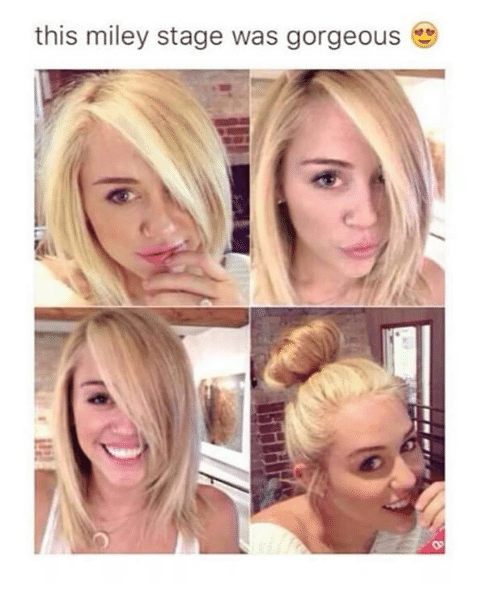 Memes, Miley Cyrus, and Gorgeous: this miley stage was gorgeous