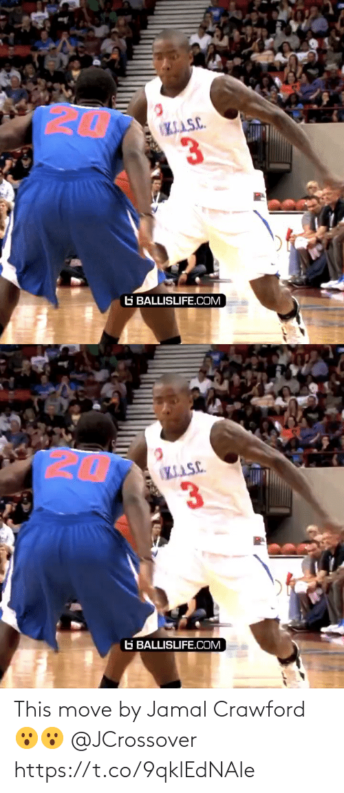 jamal: This move by Jamal Crawford 😮😮 @JCrossover https://t.co/9qklEdNAle