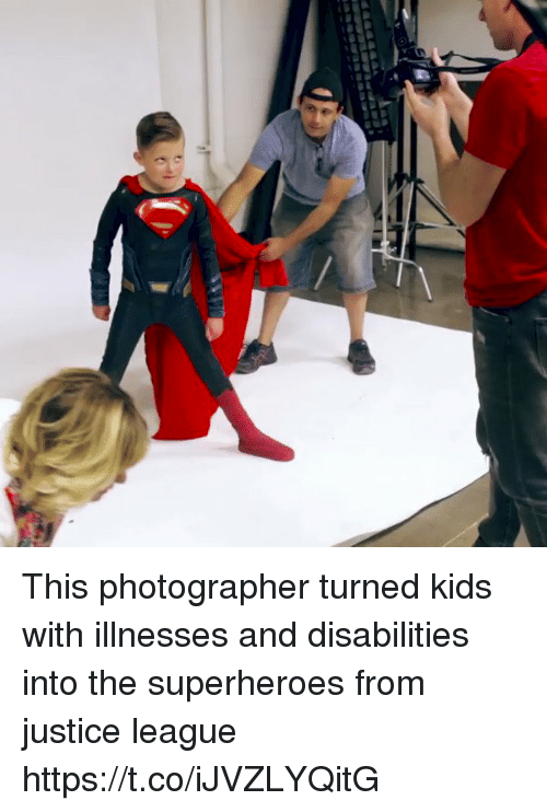 Justice, Justice League, and Kids: This photographer turned kids with illnesses and disabilities into the superheroes from justice league https://t.co/iJVZLYQitG