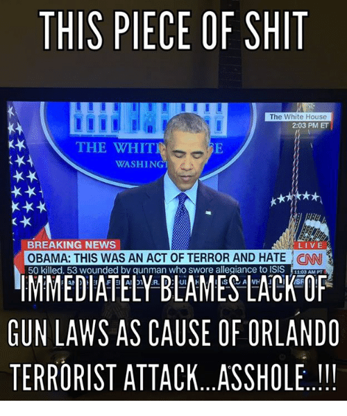 Obama is a baby killing asshole