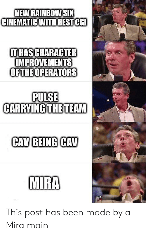 mira: This post has been made by a Mira main