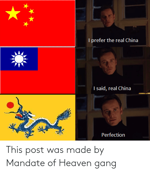 mandate: This post was made by Mandate of Heaven gang