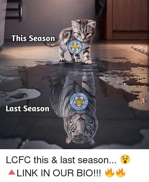 Lcfc: This Season  Last Season  STER  BALL LCFC this & last season... 😵 🔺LINK IN OUR BIO!!! 🔥🔥