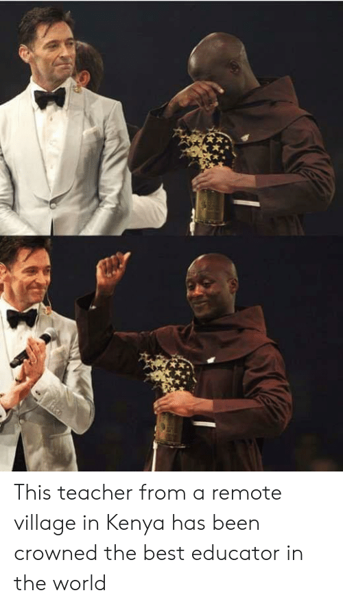 Educator: This teacher from a remote village in Kenya has been crowned the best educator in the world
