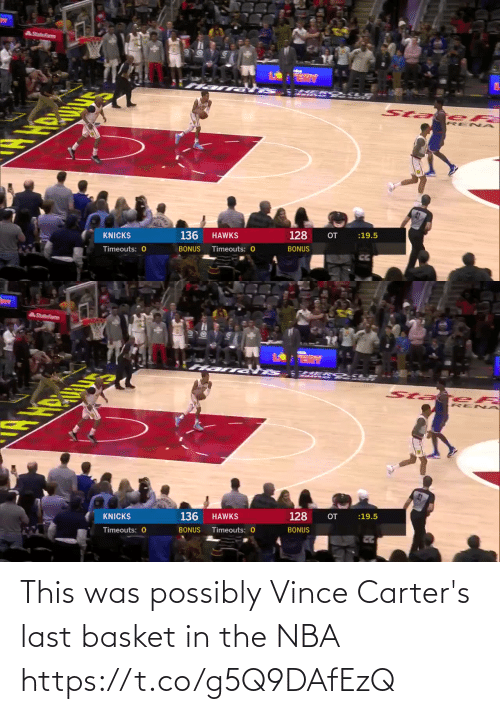 Possibly: This was possibly Vince Carter's last basket in the NBA https://t.co/g5Q9DAfEzQ