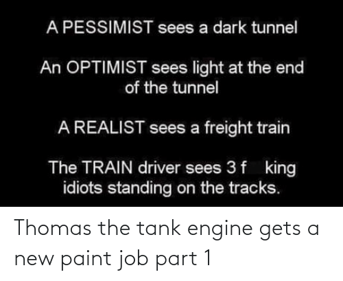 gets: Thomas the tank engine gets a new paint job part 1