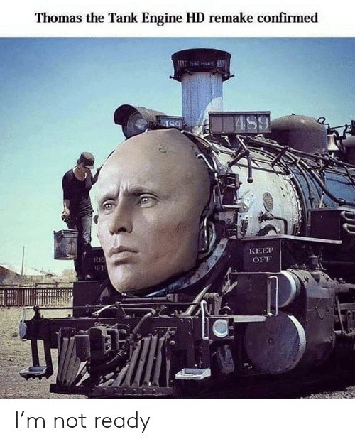 not ready: Thomas the Tank Engine HD remake confirmed  AS9  КЕЕР  EE  OFF I'm not ready