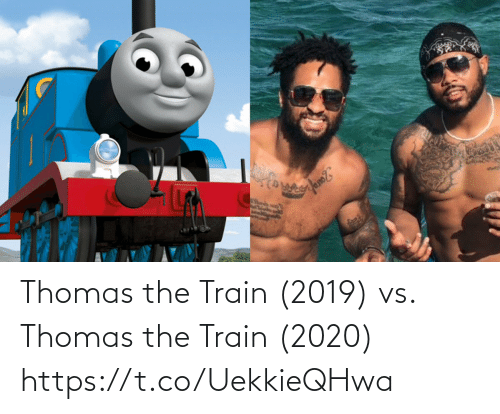 Train: Thomas the Train (2019) vs. Thomas the Train (2020) https://t.co/UekkieQHwa