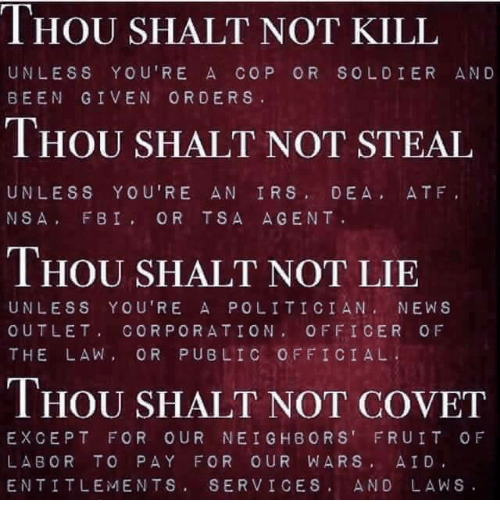 essay on thou shall not kill Is the sixth commandment thou shalt not kill or thou shalt not murder by richard h schwartz, phd.