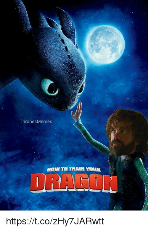 how to train your dragons: ThronesMemes  HOW TO TRAIN YOUR  DRAGON https://t.co/zHy7JARwtt