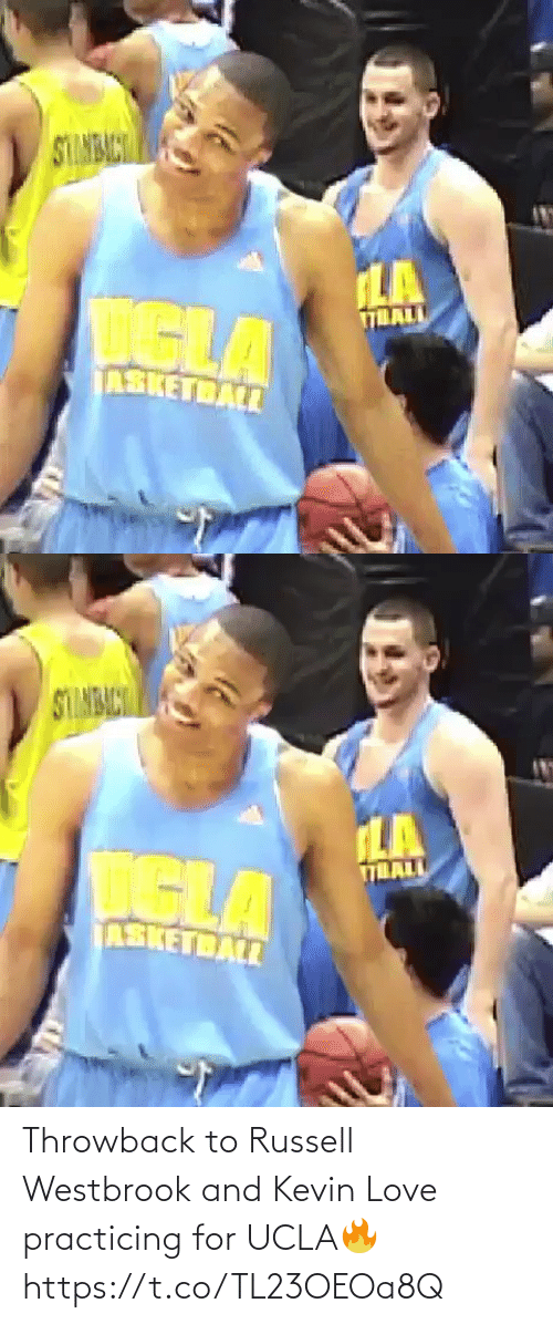 Russell Westbrook: Throwback to Russell Westbrook and Kevin Love practicing for UCLA🔥 https://t.co/TL23OEOa8Q