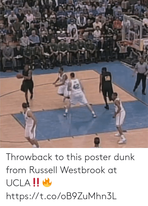 westbrook: Throwback to this poster dunk from Russell Westbrook at UCLA‼️🔥 https://t.co/oB9ZuMhn3L