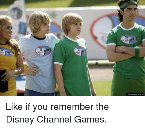 Disney Channel: THtuonasandTHE25iUS Like if you remember the Disney Channel Games.