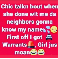 I Got Warrants