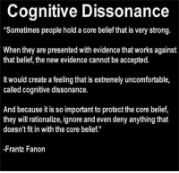 Cognitive Dissonance And