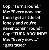 Cop Turn Around