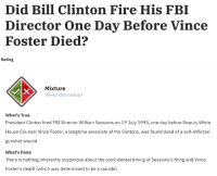 Clinton Fired