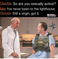 Never been sexually active