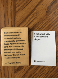 Cards Against Humanity Card
