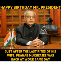 happy birthday mr president