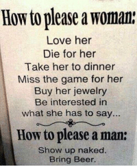 How To Please A Man