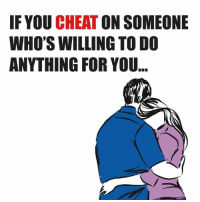 If You Cheat
