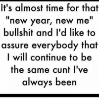New Year New Me
