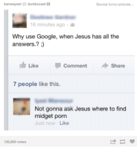 Jesus Has All The Answers