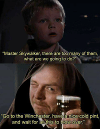 Master Skywalker There Are Too Many Of Them
