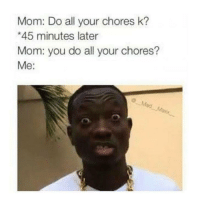 Do All Your Chores