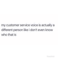 Customer Service Voice