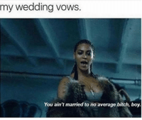 wedding vows