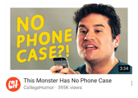 No Phone Case