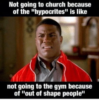 Not Going To The Gym