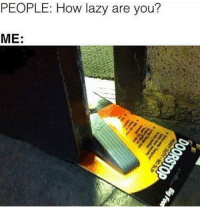 How Lazy Are You