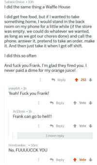 Fuck You Frank
