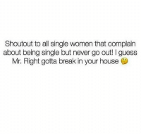 Complain About Being Single