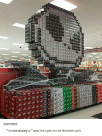 coke display