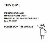 Don't Be Like