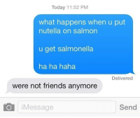 Not Friends Anymore