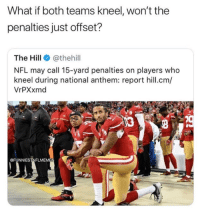Kneel During National Anthem