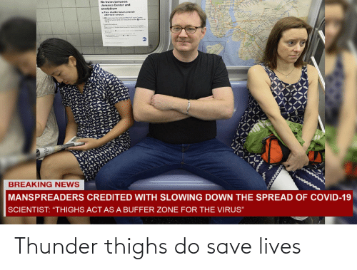 thighs: Thunder thighs do save lives
