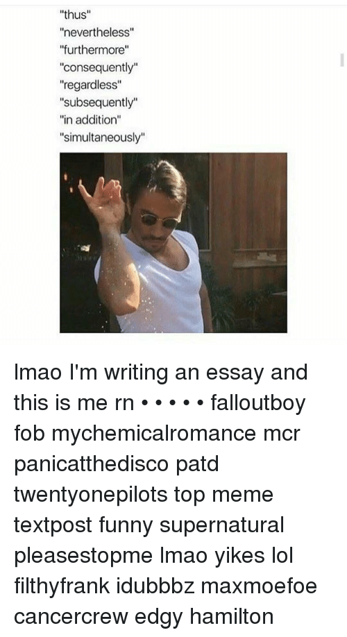 this is me essays