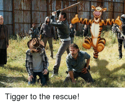 Tigger: Tigger to the rescue!