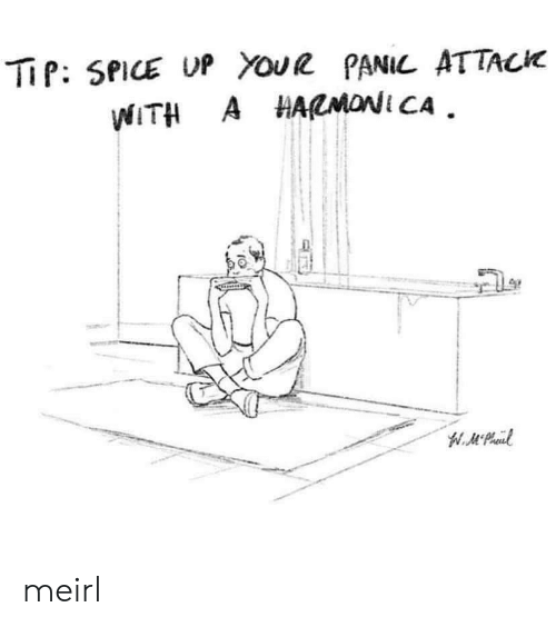 spice: TiP: SPICE UP YouR PANIL ATTACK  WITH A HARMONI CA meirl