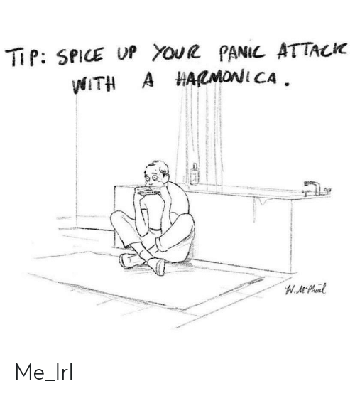 spice: TiP: SPICE UP YouR PANIL ATTACK  WITH A HARMONI CA  W.Mt Peaul Me_Irl