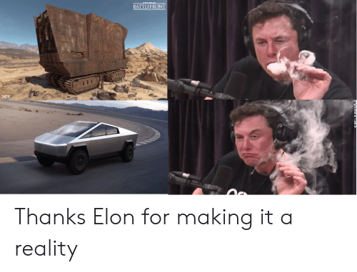 tml: TML WAR  BATTLEFRONT Thanks Elon for making it a reality