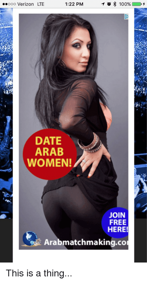 date arab women ad